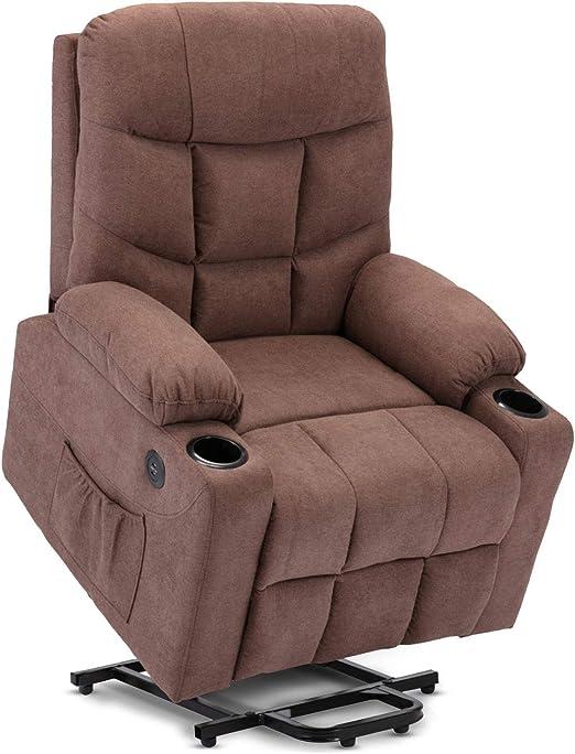 Power Lift Massage Recliner - Maximum Comfort