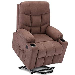 DEVAISE Power Lift Massage Recliner Chair with Heat