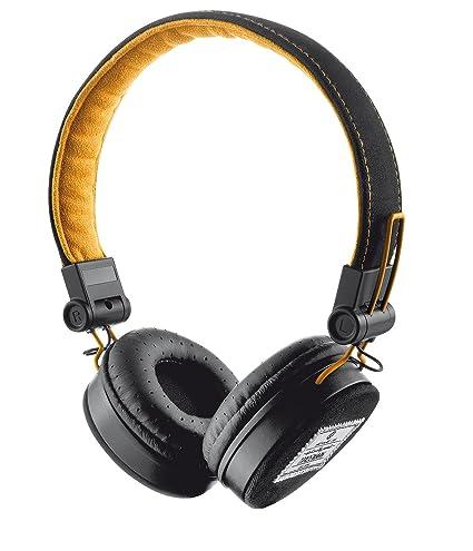 Trust Urban Fyber - Auriculares de diadema cerrados, negro y naranja