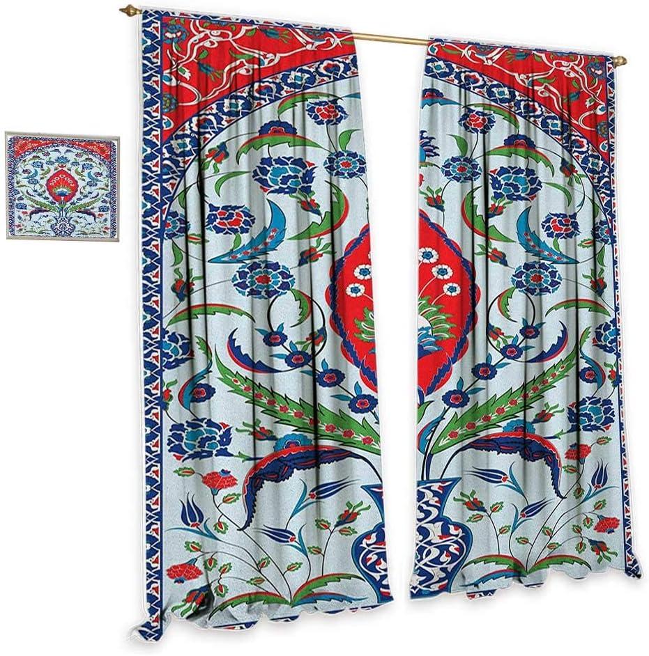 CobeDecor - Cortina de estilo turco, simple y bizantina, adorno ...