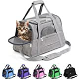 Prodigen Pet Carrier Airline Approved Pet Carrier Dog Carriers for Small Dogs, Cat Carriers for Medium Cats Small Cats…