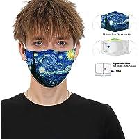 Pantalla facial lavable reutilizable impresa en 3D