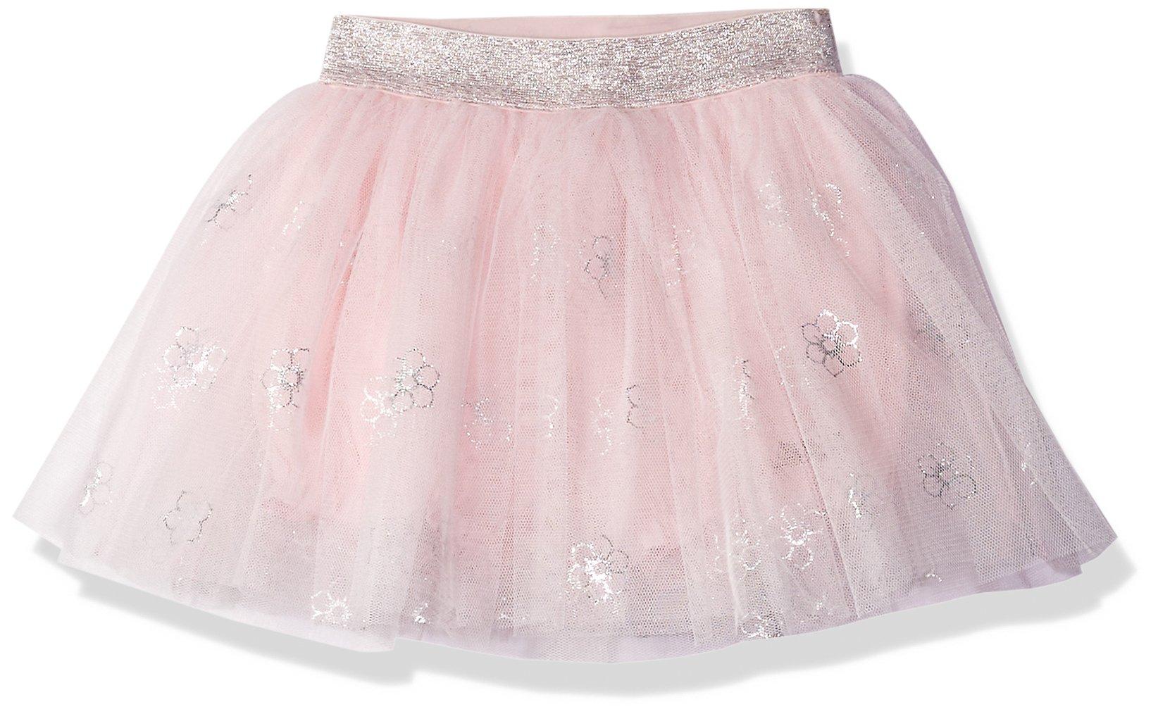 Robeez Girls' Toddler Sparkle Tutu, foil Pink, 18 Months