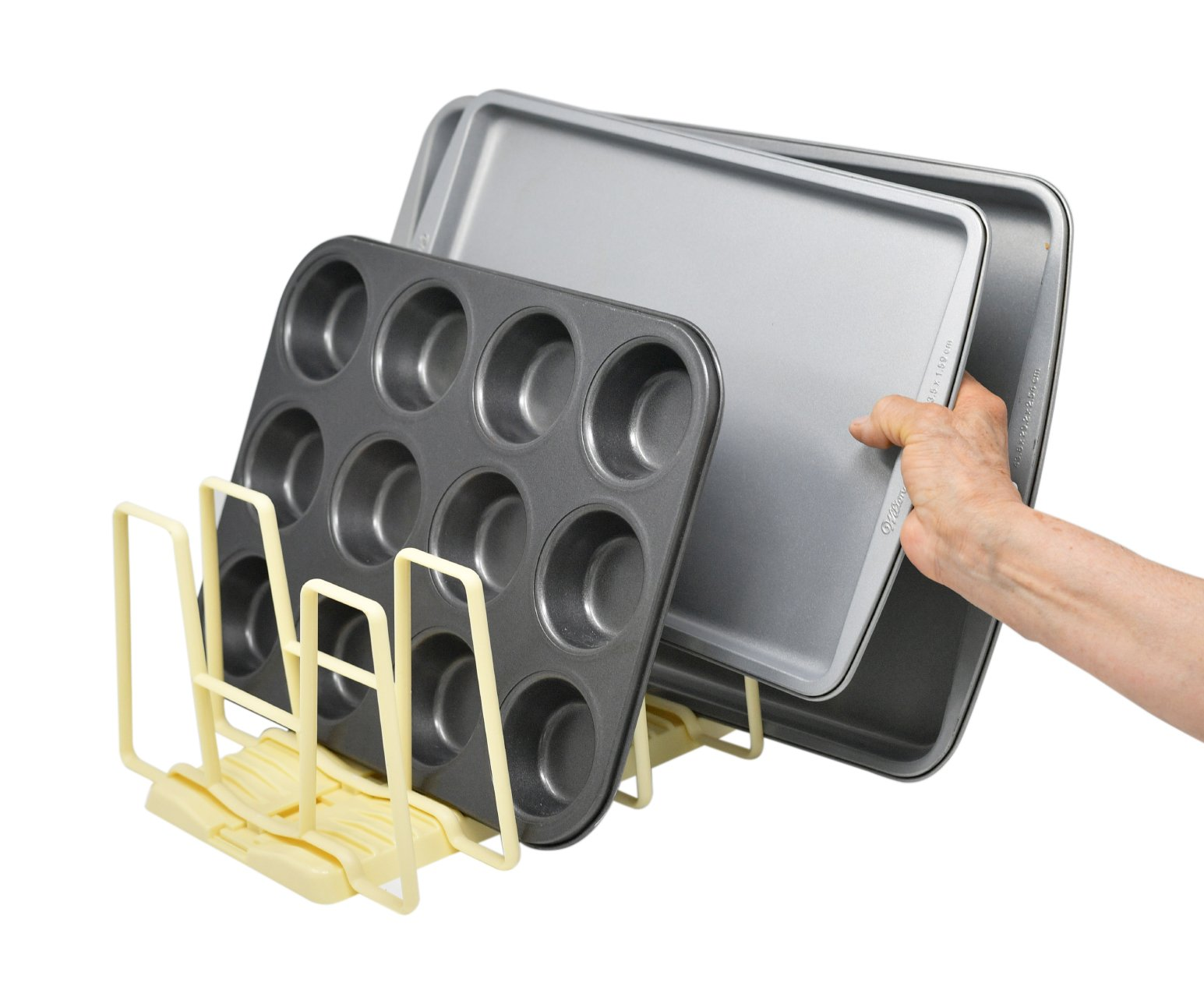 Adjustable Bakeware Organizer Rack - by Home-X