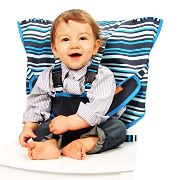 Amazon.com: Asientos infantiles My Little Seat, Rayas: Baby