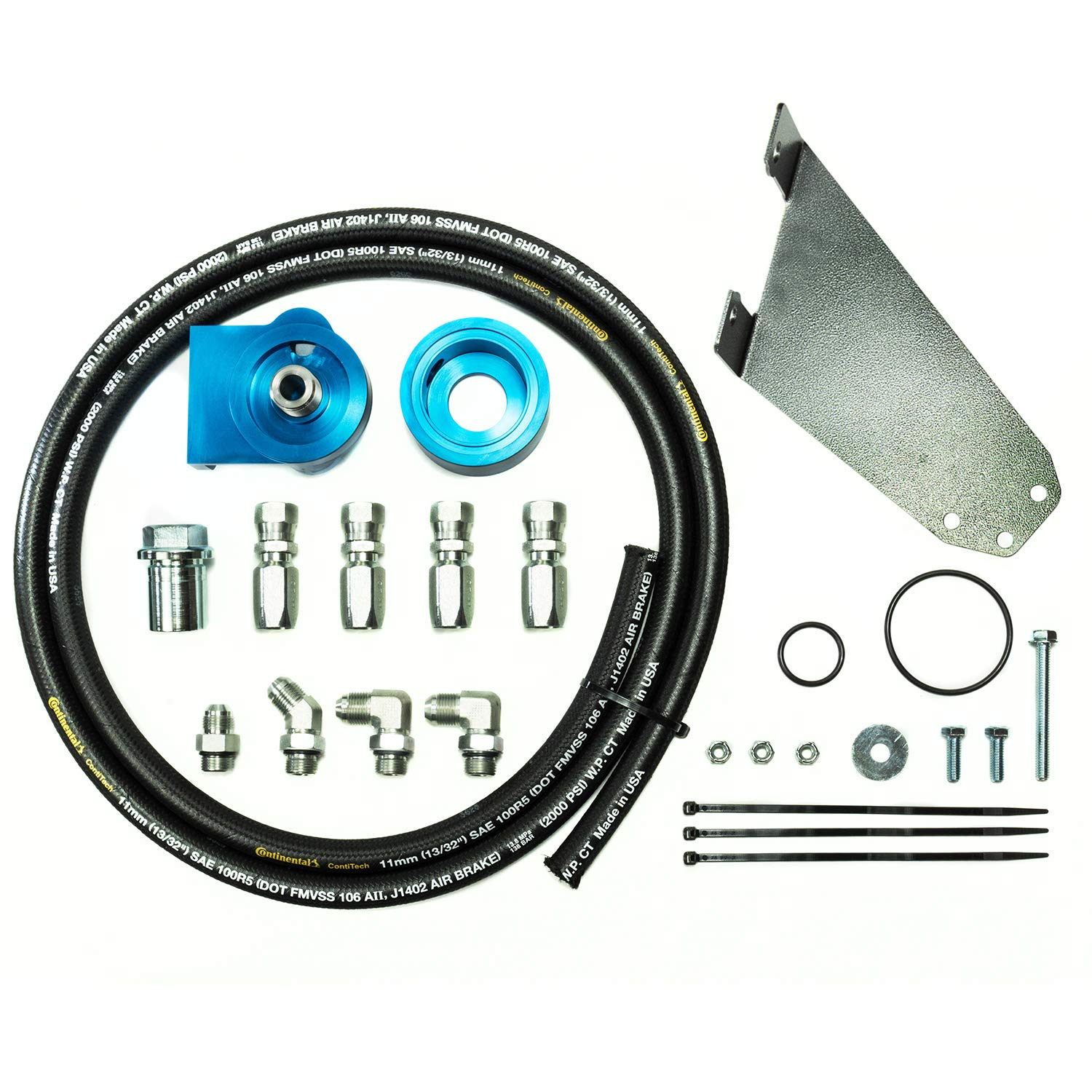 Pacbrake PacPro Remote Oil Filter Relocation Kit HP10006