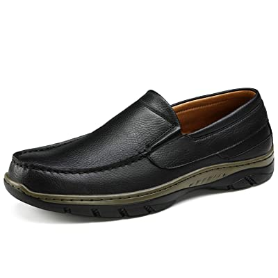 Men's Boat Shoes Loafers-Classic 2-Eyelet Deck Shoe Laceup Casual Commute Driving Flats Handsewn Comfort | Loafers & Slip-Ons