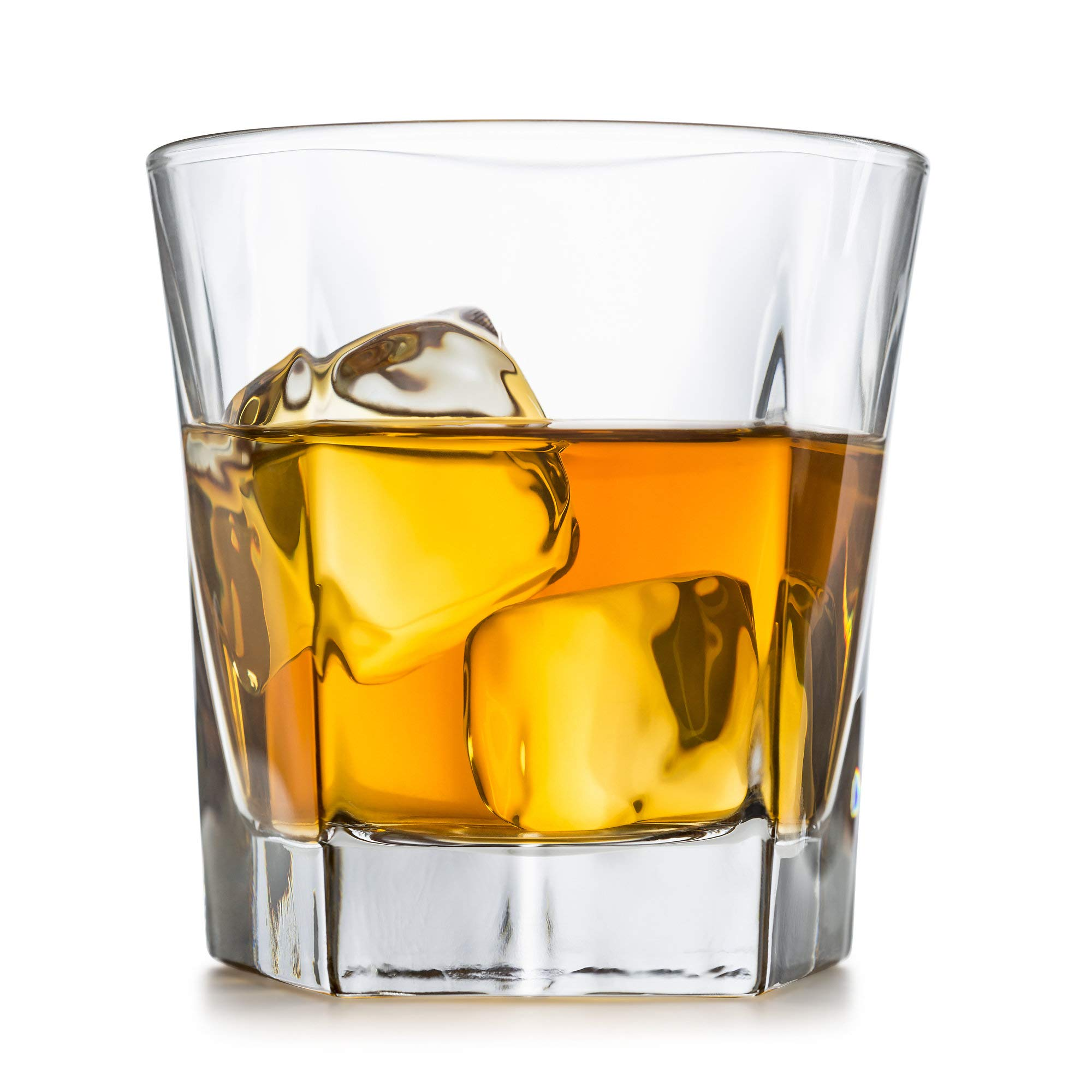 Whiskey Glasses, Set Of 2 – By Liquor Sip. Elegant Design- Large 12 oz Lead-free Tumblers- best glass cups for scotch or bourbon -10 Bonus Refreshing Cocktail Recipes enclosed in a stylish gift box by Liquor Sip (Image #4)