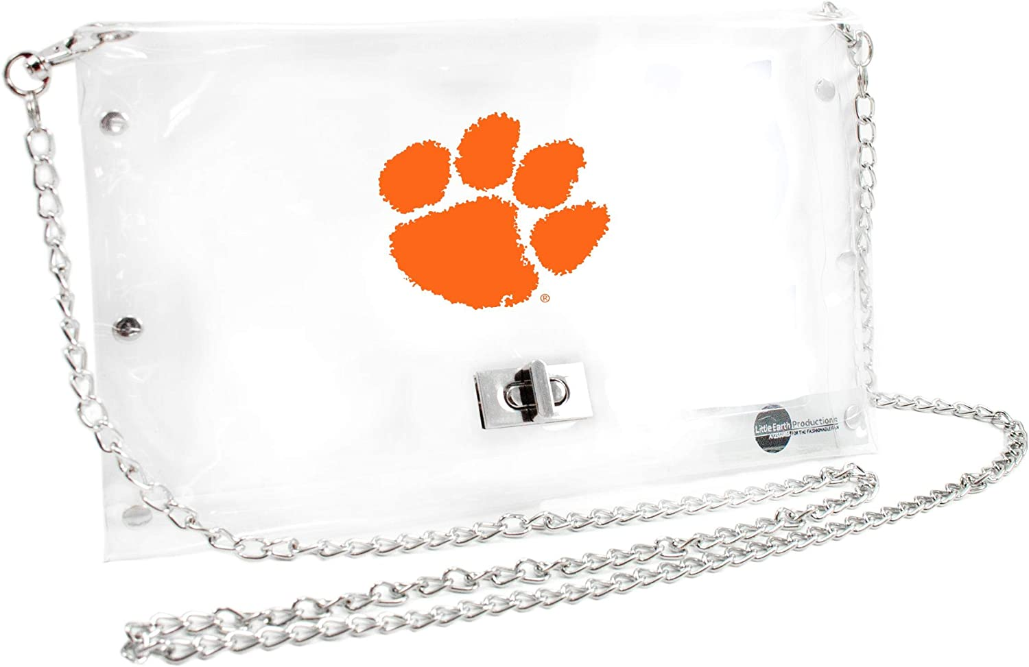 Littlearth BYU Cougars  NCAA Envelope Purse Inch 10 x 0.5 x 6.5 Clear