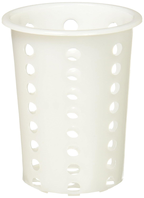 Winco FC-PL Flatware Cylinder, Plastic, Medium, White Winco USA