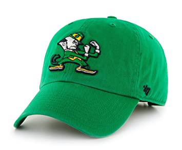 1bd161ff30e Notre Dame Fighting Irish 47 Brand Clean Up Adjustable Hat - Green ...