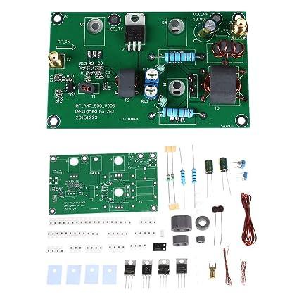 KKmoon 45W SSB AM Módulo de Fuente de Alimentación Lineales Amplificateur CW FM Amplificador de Potencia