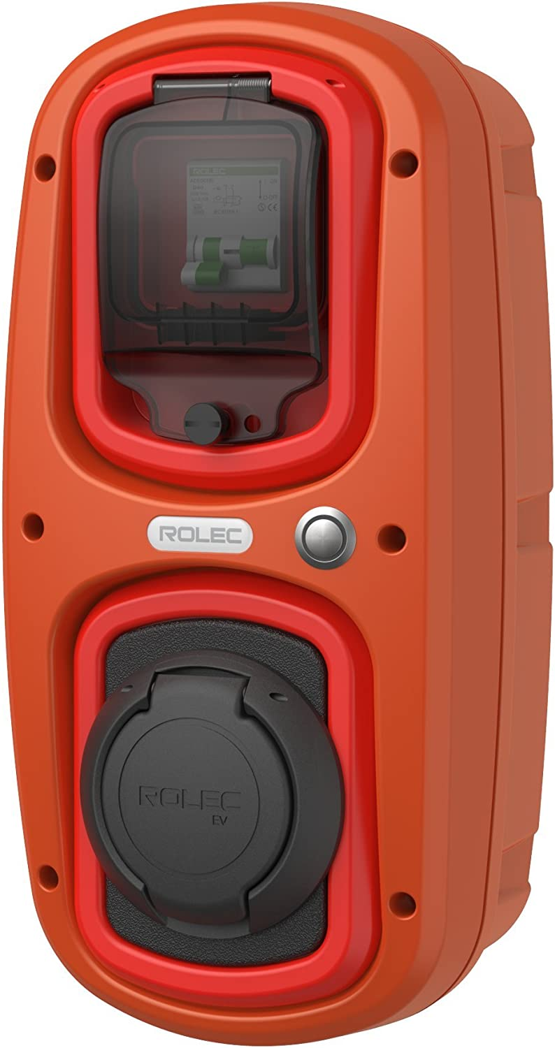 WallPod Charging Unit Terracotta//Red EV//Electric car Colour 32 Amp Type 2 Socket