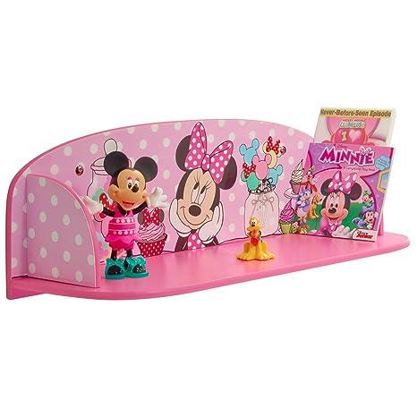 Disney Minnie Maus Wandregal Kinderregal Regal Organizer ...