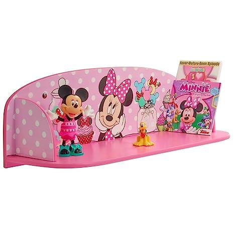 Disney Minnie Maus Wandregal Kinderregal Regal Organizer Spielzeugregal  Minnie Mouse Mickey Micky