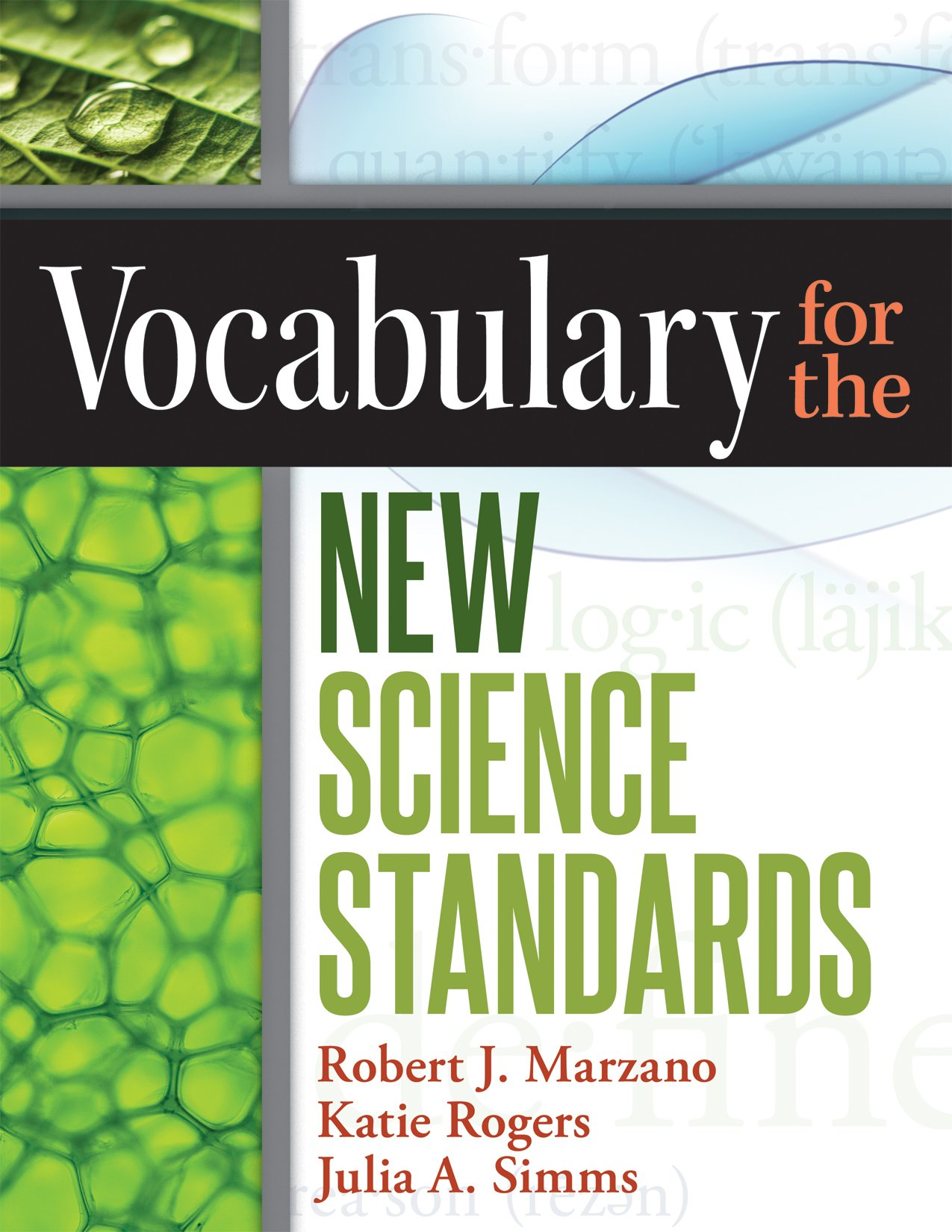 science vocabulary for the new standards