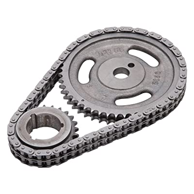 Edelbrock 7813 Performer-Link Timing Chain and Gear Set: Automotive