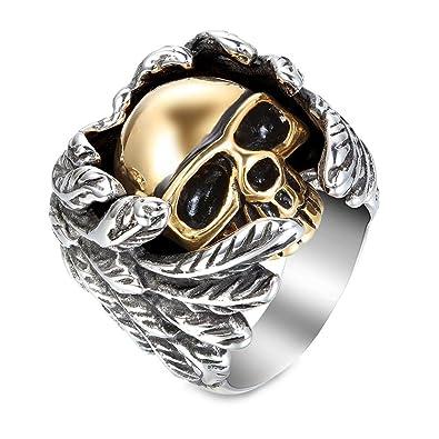 Jewelry Bobijoo Démon Biker Bague Mi Chevalière Ange Homme 6vIf7gmbyY