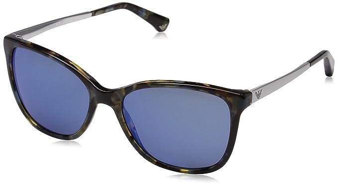 c1b24537277 Giorgio Armani Womens Sunglasses (AR8075) Tortoise Grey Acetate -  Non-Polarized -