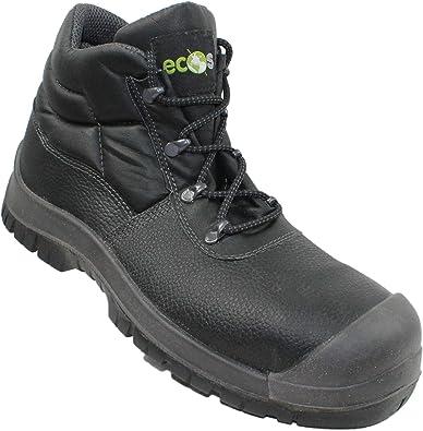 Ecos ST250C Reino Unido S1P SRC Seguridad Zapatos Zapatos de ...