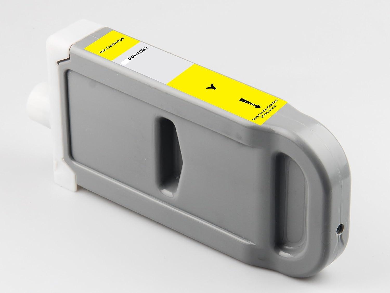 キャノン 大判プリンタ インク PFI-706 Y Canon iPFシリーズ対応 イエロー B016CZRS2Y