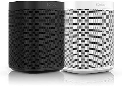 Sonos One Gen 2 Black Two Room Set