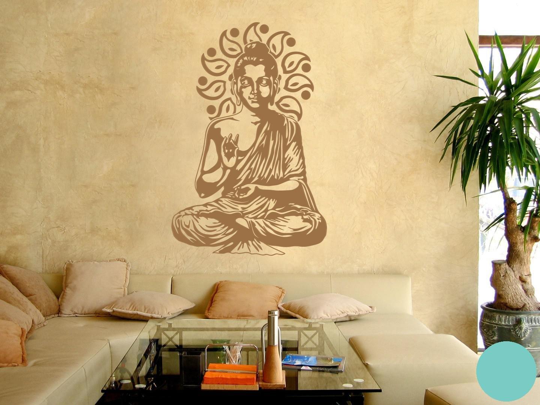 Klebefieber Wandtattoo Wandtattoo Wandtattoo Buddha B x H  67cm x 100cm Farbe  Kupfer B071VFCGLD Wandtattoos & Wandbilder 39f248
