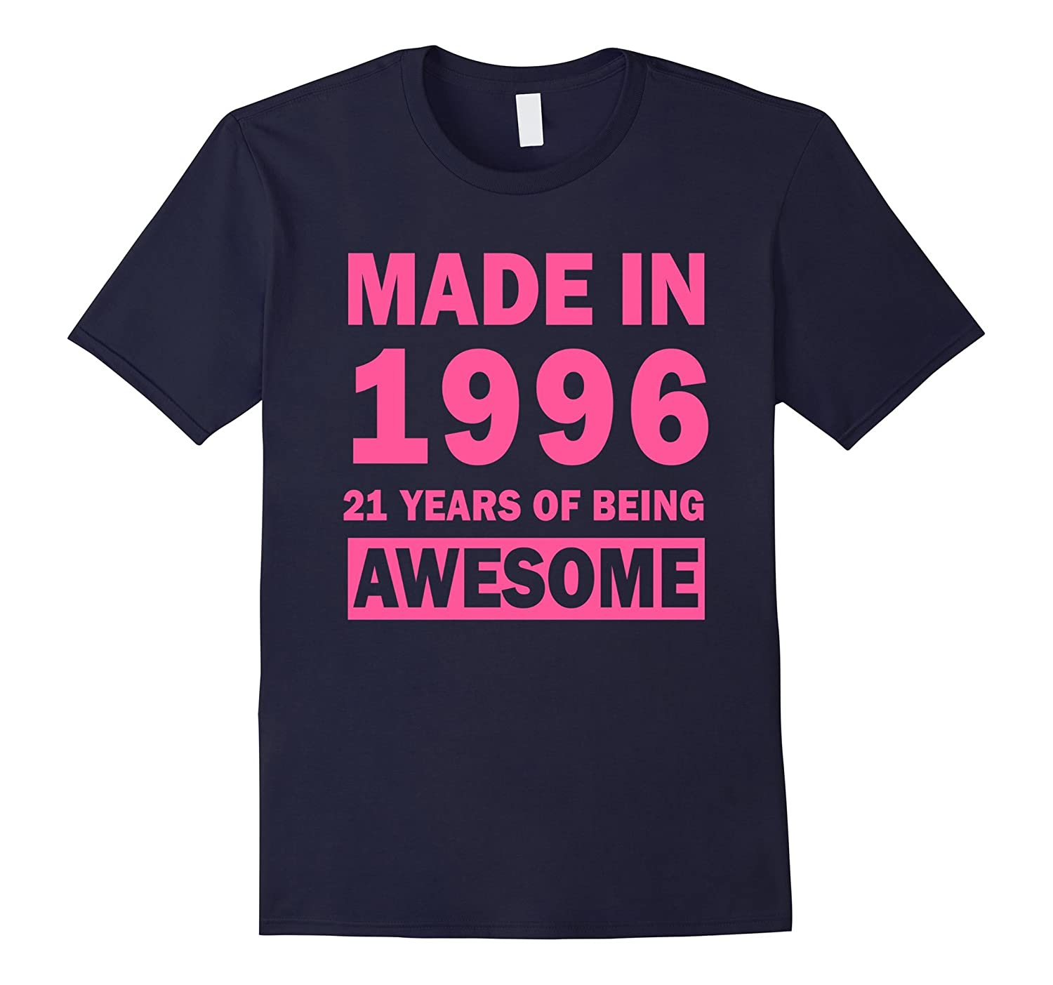 Made In 1996 21 Years Old 21st Birthday Gift Ideas For Her-Vaci