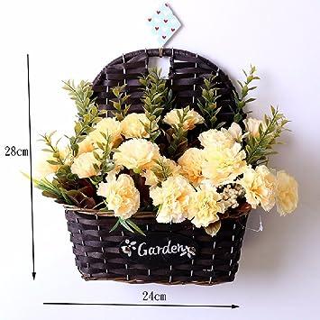 Amazon.com: SCFLOWER Artificial Flowers European Style Diy Grass ...