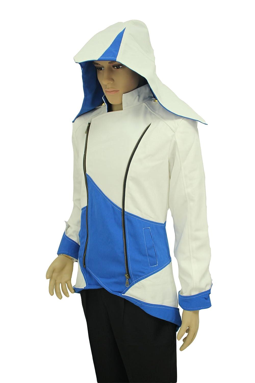 Assassins Creed 3 Connor Kenway azul y traje de chaqueta blanca ...