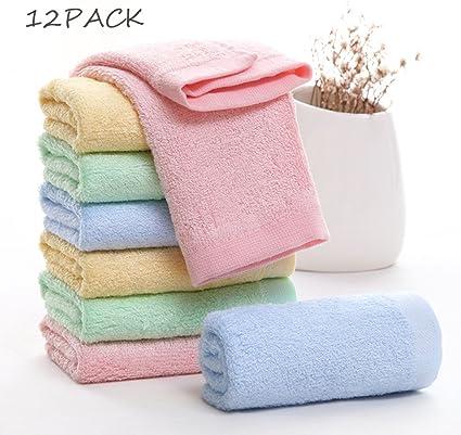 Premiers pas bébé lavage vêtements enfant nouveau-né serviettes set de 4 et 5 serviettes