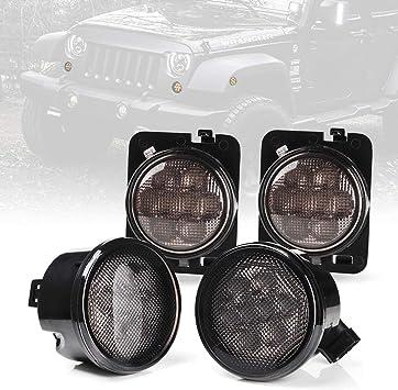 2007-2018 Jeep Wrangler JK Passenger Right Side CLEAR Park Turn Lamp Mopar OEM