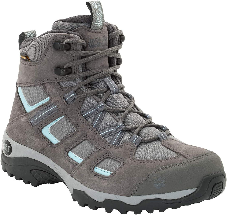 Jack Wolfskin Vojo Hike 2 Texapore MID Women s Waterproof Hiking Boot, tarmac grey, US Women s 11 D US