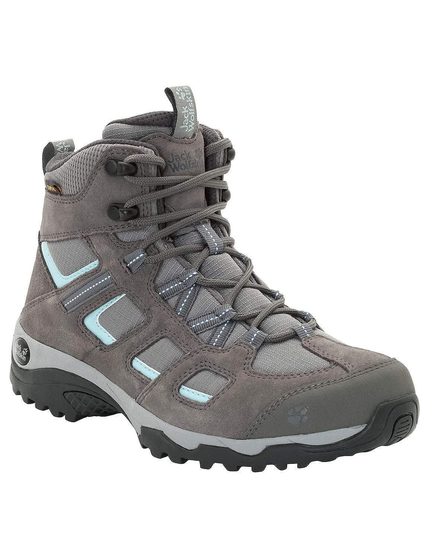(Tarmac gris 6011) 39.5 EU Jack Wolfskin Vojo Hike 2 Texapore Mid W imperméable, Chaussures de Randonnée Hautes Femme