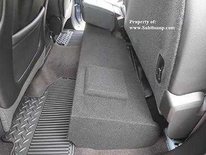 2014-2018 Chevy Silverado Crewcab Subwoofer Enclosure Speaker Box 2015 2016 2017