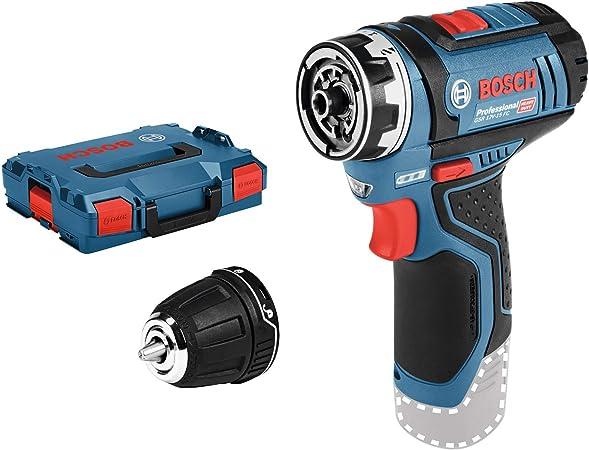 Amazon.com: Bosch Professional Gsr 12V-15 Fc - Taladro ...