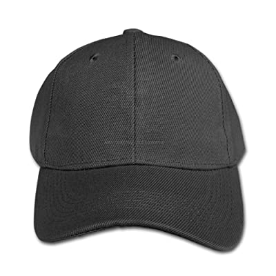 Elephant AN All I Care About Is Coffee Pure Color Baseball Cap Cotton Adjustable Kid Boys Girls Hat