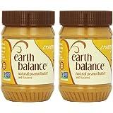 EARTH BALANCE - Peanut Butter-Creamy/Flaxseed 16 Oz - 2 EACH