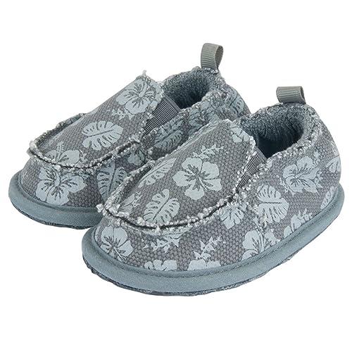 0e4d2917dfd29f Amazon.com  Me In Mind Slip On Baby Shoes - Kapolei Gray - Hawaiian ...