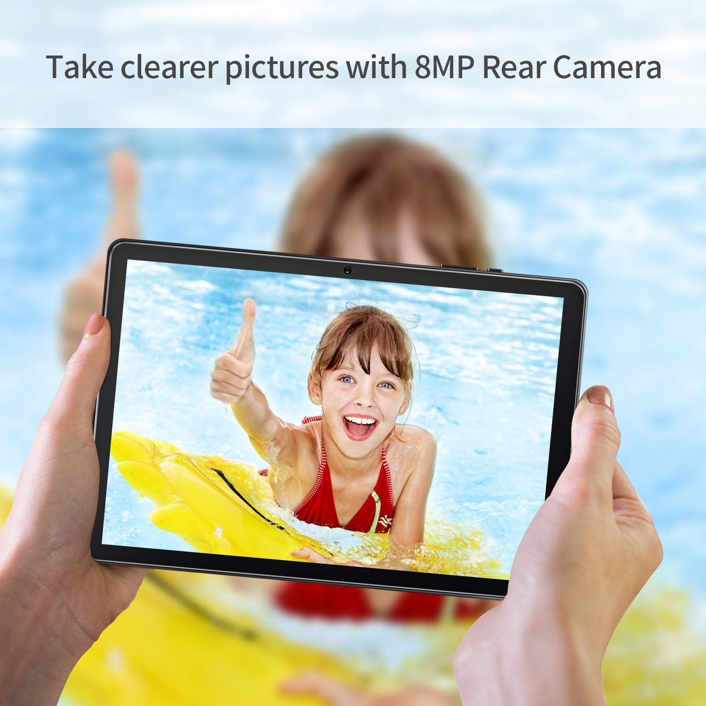 8MP Rear Camera Black Quad-Core Processor 64 GB Storage Android 9.0 Pie 10 inch IPS HD Glass Display 2 GB RAM VANKYO MatrixPad Z4 Pro 10.1 inch Tablet Metal Housing Wi-Fi