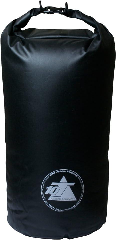 Étanche Extra Légère Outdoor-sac de rangement avec 10 litres de volume en Noir
