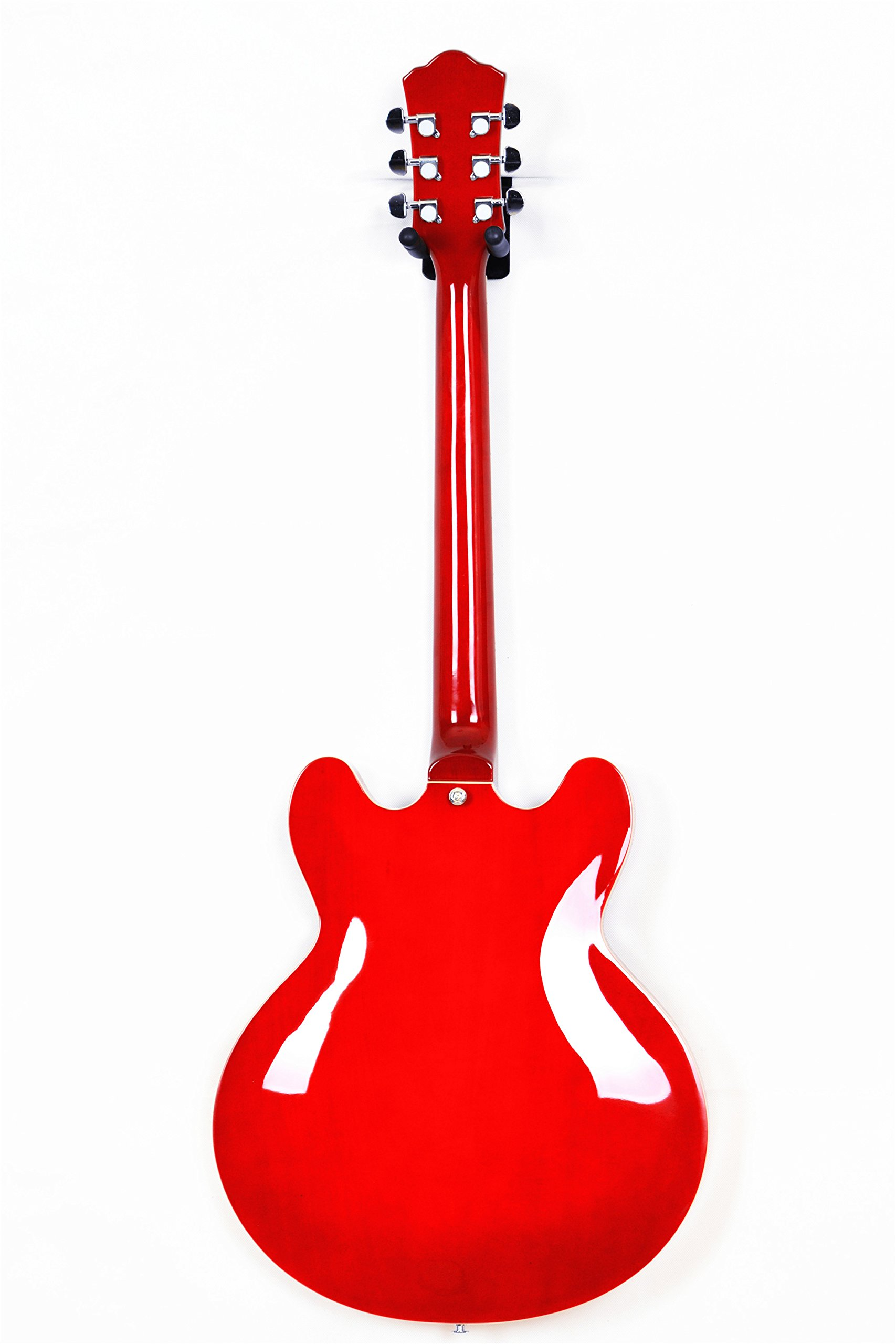 2019 New Product GROTE BRAND Electric Guitar Semi Hollow Body RED COLOR by Grote (Image #10)