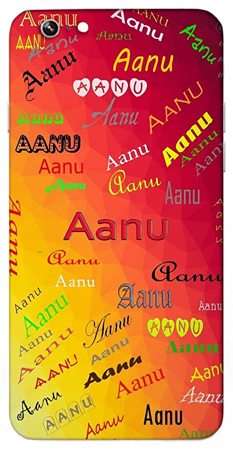 Aanu Name Sign Printed All Over Customize Amazonin Electronics