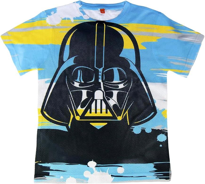 22-1958 Camiseta de algodón para niño Darth Fener STAR WARS de 8 a 14 años - 14 años: Amazon.es: Ropa y accesorios