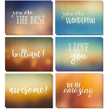 Amazon 48 pack inspirational bible verse quote greeting cards 36 pack motivational encouragement greeting cards 6 handwritten modern artistic style colorful designs bulk box set variety assortment envelopes included m4hsunfo