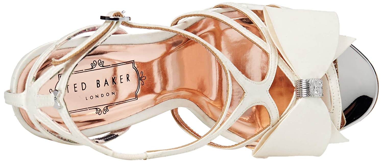 Ivory Ted Baker Womens Arayi Heeled Sandal 5.5 Regular US