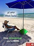 beachBUB All-In-One Beach Umbrella System (includes BUBrella, beachBUB Base & Accessory Kit)