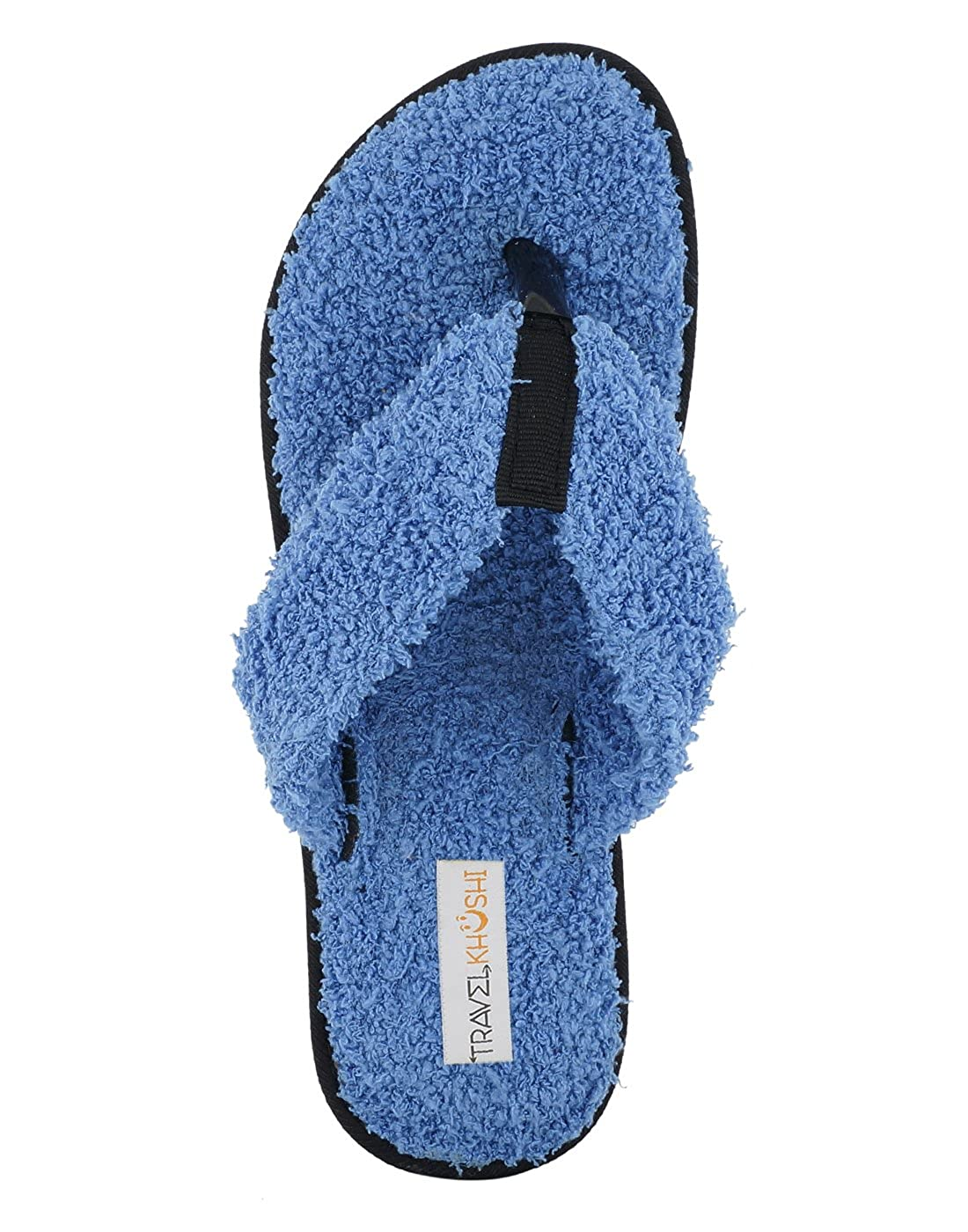 1fc78c15212623 Travelkhushi Women s Grass Terry Memory Foam Flip-Flops  Buy Online at Low  Prices in India - Amazon.in