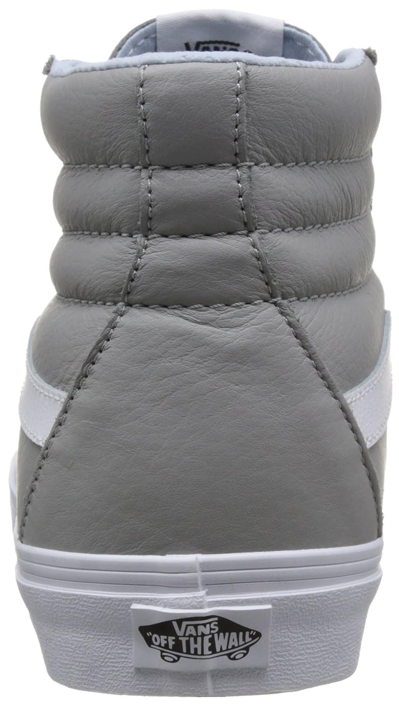 Vans (Leder-oxford/Drizzle) Unisex-Erwachsene Sk8-hi Reissue Hohe Sneaker Grau (Leder-oxford/Drizzle) Vans bcb7ac