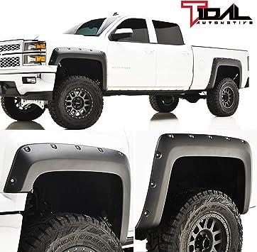 14-19 Toyota Tundra Smooth Paintable Boss Pocket Rivet Fender Flares